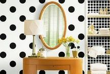 Polka Dots In Bathroom