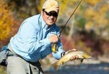 Fly Fishing Guides / Meet our outstanding guide staff. You're sure to laugh and learn a lot about fly fishing, pheasant hunting, and the surrounding outdoor environments.
