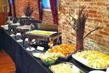Budget Wedding Catering / Ideas and tips for wedding catering on a budget