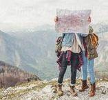 Adventure / Travel. Wanderlust. Maps. Love. It's all one big adventure