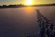 Ice-Fishing / Winter Ice-Fishing in Utah