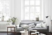 Dream Home / Modern home. Interior design. Simple yet cozy.
