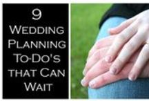 9 Wedding Planning To-Do's that Can Wait / Before you jump onto every task imaginable, there are a few wedding tasks that could wait.