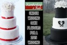 Unique Wedding Cake Flavours for a 2015 Wedding / Pick one of these unique wedding cake flavours for your wedding cake and get the best of both worlds