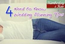 4 Need to Know Wedding Planning Tips / Wedding planning is a lot of work but regardless of how much time you're giving yourself, there are a few things you need to know right now, whether you take action on those things or not. http://www.kimberleyandkev.com/4-need-know-wedding-planning-tips/