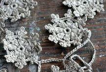 Linen, Lace, Veil, Crochet, etc