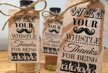 Wedding Favours / Wedding favour ideas, Wedding favour labels and tags, wedding favour food and drink