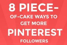 How To Get Followers on Pinterest / Every trusted and tested methods to Get Followers on Pinterest in one board.