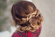 Wedding hairstyle ideas / Hairstyle ideas for the most important day of your life!