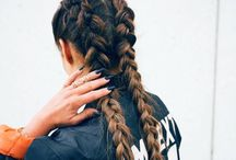 t a n g e l s ° / No matter how many times I watch Tutorials on how to braid hair. I still will not get it. I have no hope ;;;