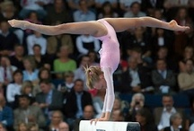 ~ Gymnastics <3 ~ / Gymnastics demands whole body strength, flexibility, agility, and balance. It demands speed. It demands grace. It requires that you push the human body to its limit without fear or hesitation. <3 / by Morgan Meister