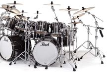 Drums / Kits | Hardware | Cymbals | Drummers / by Andrew