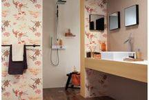 Papel Pintado Aqua Déco  / ¡Decora por menos de 40 euros! Un catálogo de papel pintado para paredes ideal para decorar baños y cocinas. Esta colección es de la marca alemana Rasch, unos papeles pintados lavables y vinílicos al mejor precio.