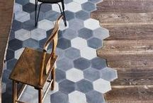 Rugs Tiles Floors / we love what goes on under our feet... here's a little dose of inspiration