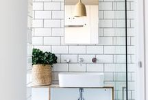 bathrooms / modern, organic, and/or scandinavian bathrooms