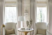 Stylish Neutrals / Classic and Modern and always stylish... we at Natural Curtain Company love our neutrals