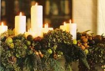 Natural Curtain Company does Christmas / Ok, we're pretty excited about Christmas and feeling festive!