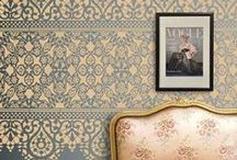 Walls We Love / Statement walls are all the rage and here are a few we think look really good