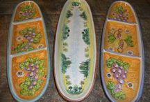Sbigoli makes Large Platters / Large, multiple size platters