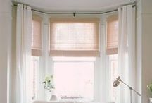 Bay Windows / A bay window is fabulous for letting in light and giving space... here are some ideas on how to decorate a bay...