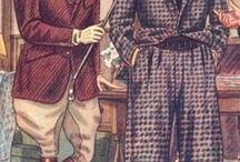 Herrenkleidung bis 1950