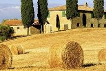 Beloved Tuscany / hidden corners, open landscapes, little hamlets, lovely towns... beautiful, amazing region!