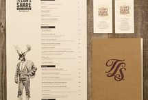 Menu in bars & restaurant / Menu in bars & restaurant from all over the world.