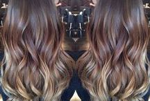 Brunette Hair / Need some color inspiration for brunette hair? Check out our pins!