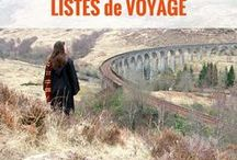 TOP LISTES de voyage / Toutes les meilleures listes de voyage pour trouver des idées voyage | voyage autour du monde | top listes | voyage paysages | inspiration voyage