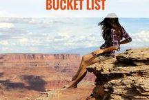 BUCKET LIST de voyage / Bucket list de voyage | inspiration voyage | idées voyage et paysages à découvrir
