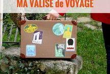 MA VALISE voyage - le bordel / Dans ma valise de voyage | Gadgets & équipements de voyage | accessoires de voyage | vêtements de voyage | valise de voyage