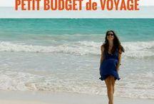 PETIT BUDGET voyage / Astuces petit budget voyage | voyager pas cher | Comment gérer son budget voyage | économiser plus | voyager malin | budget vacances | voyage à petit budget