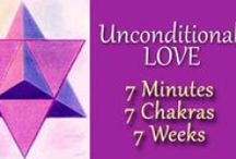 Year of Unconditional Love ~ 7 Minutes ~ 7 Chakras ~7 Weeks / Celebrating the Year of Unconditional Love for 7 Minutes focusing on 7 Chakras for 7 Weeks.  http://suzanneliephd.blogspot.com/2016/01/make-ascension-normal-with.html