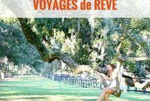 VOYAGES de RÊVE / Photographie de voyage pour se faire rêver et s'inspirer | inspiration | idées voyage | paysages