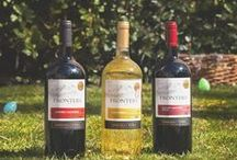 Springtime & Wine / Enjoy a refreshing glass of Frontera in the full bloom of Spring.