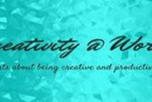 Blog Posts on Creativity@Work / I write posts on my blog about books I have read, about writing and creativity and becoming more productive. I am an author and also do interviews of other authors on the blog.  http://geetanjalimukherjee.blogspot.sg/