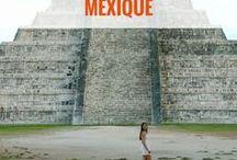 MEXIQUE & colores ! / Voyage au Mexique | Partir au Mexique | carnets de voyage Mexique | inspiration Mexique | road trip Yucatan | voyage Yucatan