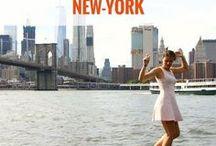 NEW YORK / Voyage à New York | Partir à New York | carnets de voyage New York | idées New York | New York pas cher | city guide New York