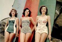Retro Beach / Seaside old school style / retro images we love