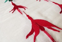 My Embroidery / Embroidered artwork, illustration and samples