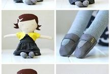 Dollmaking: Soft / Tutorials, patterns, tips and process
