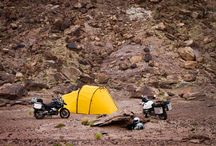On/Off road touring and motorcycle / motorcycle, touring and biker activity