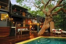 sanctuary / architecture, housing material, interior and exterior design idea that makes me feel home