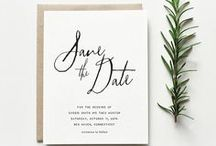 Save the Date / Save the date inspirations