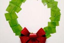 sint/kerst voor in de klas / knutselideeen