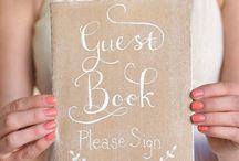 Gästebuch I Guest Book / Alternative Gästebücher - Gästebuch mal anders. Ideen für euer Gästebuch auf der Hochzeit