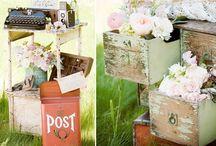 Vintage Wedding / Shabby chic wedding ideas - for the best vintage wedding ever!!