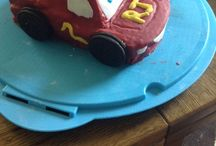 Jacobs birthday cakes / Made by Jacobs mummy