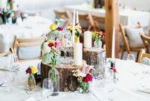 Landhochzeit I Rustic Wedding / Die schönsten rustikalen Hochzeiten und Hochzeitsideen - mit Rustic chic Dekoration, rustikale Landhochzeiten, Landhaushochzeit