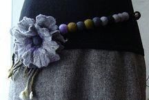 Lana cardata e feltro / progetti con lana e feltro
